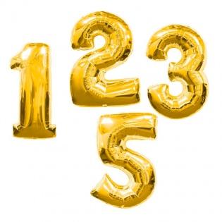 Гелиевые шары цифры